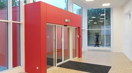 Tømrer, Limfjordsskolen - Indgangsparti