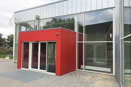 Tømrer, Limfjordsskolen - facade