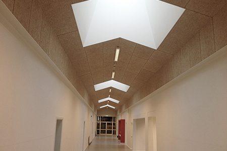 Tømrer, Skole, lysindfald, ovenlys